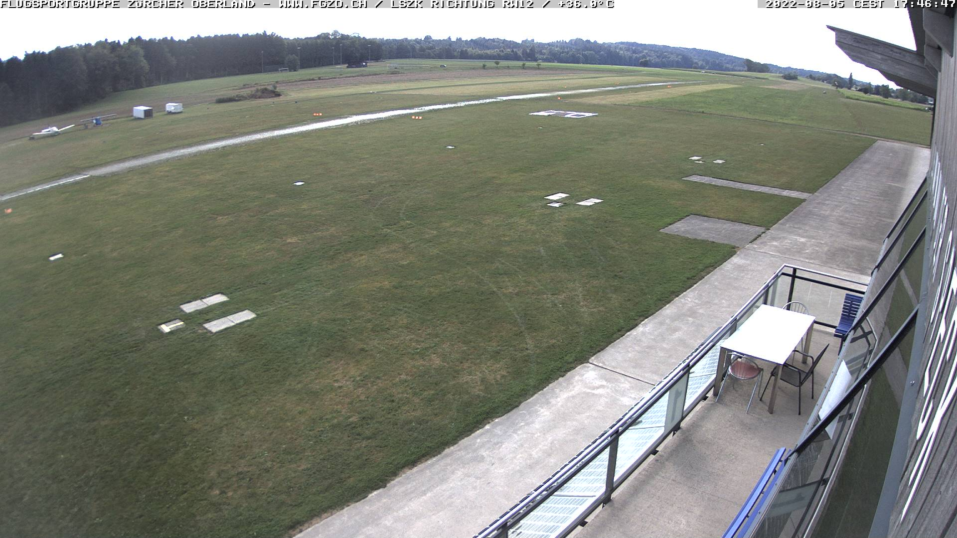 Webcam Flugplatz Speck